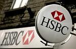 STREET, UNITED KINGDOM - MARCH 03: The HSBC lo...